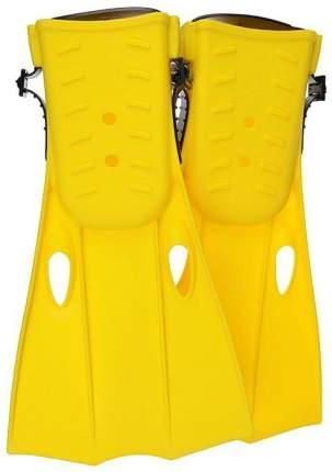 Ласты для плавания Intex с55936, размер 35-37, желтые/зеленые