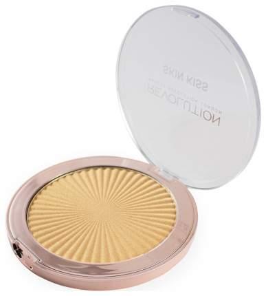 Хайлайтер Makeup Revolution Skin Kiss Golden Kiss 14 г