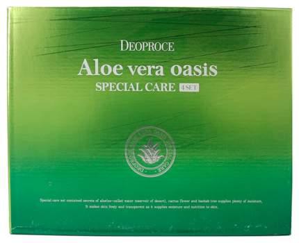 Набор косметики для лица Deoproce Aloe Vera Oasis Special Care 4 Set
