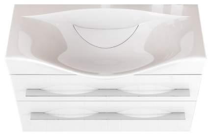 Тумба для ванной Aqwella Mil,01,08/2/W без раковины
