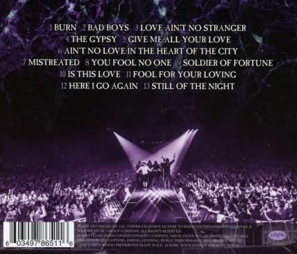 "Аудио диск Whitesnake ""The Purple Tour (Live)"""