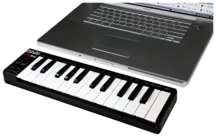 Портативный USB/MIDI-контроллер Akai PRO LPK25