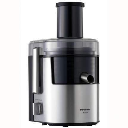 Комплект Соковыжималка центробежная Panasonic MJ-DJ 31 STQ Sl/Bl+наушники RP-BTS35GC Blue