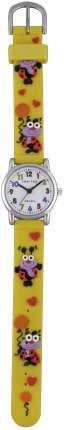 Детские наручные часы Тик-Так Н101-2 желтые бож коровки