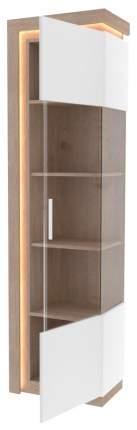 Платяной шкаф Любимый Дом LD_56651 55х37х200, белый/серый