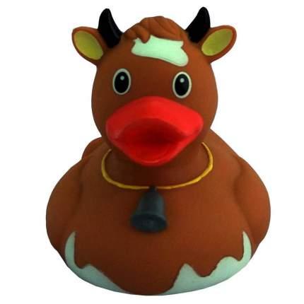 Уточка Веселые Ути-Пути Корова коричневая