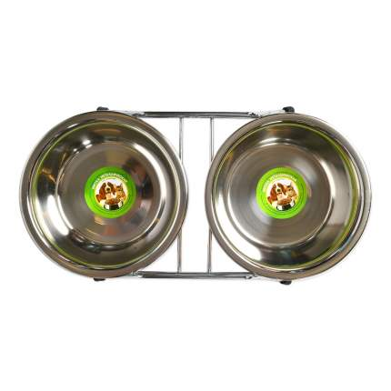 Подставка для животных с двумя мисками Ankur, 0,8 л