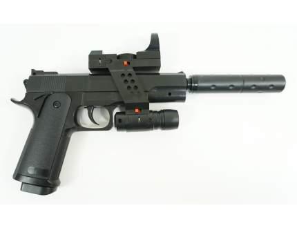 Страйкбольный пружинный пистолет Galaxy (кал. 6 мм) G.052A ( Beretta 92)