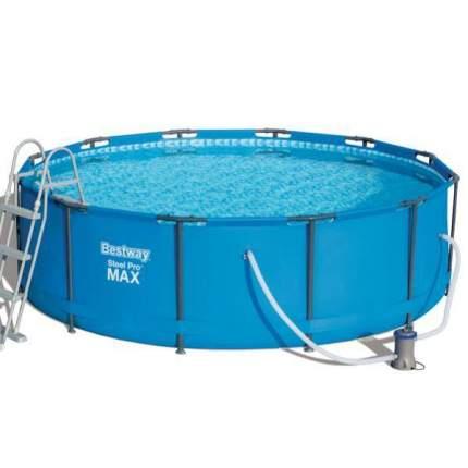 Бассейн Bestway Steel Pro Max 56418, 366х100см, 9,150л., насос фильтр, лестн.