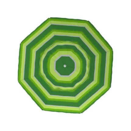 Зонт пляжный Zagorod Z300 (диам. 300см, в чехле) (зеленый)