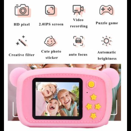 Детский цифровой фотоаппарат Lemon Tree Blue