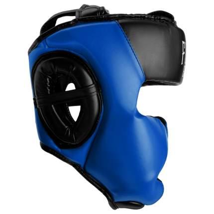 Шлем боксёрский соревновательный FIGHT EMPIRE, размер М, цвет синий FIGHT EMPIRE