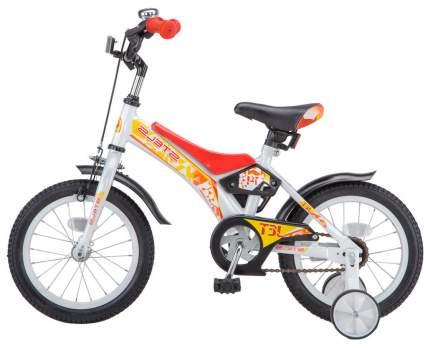 Велосипед детский двухколесный Stels Jet 16 Бело-красный
