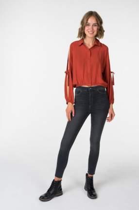 Блуза женская OXXO OX-VISLASPAT красная M