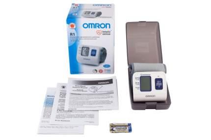 Тонометр Omron R1 HEM 6114-RU автоматический на запястье