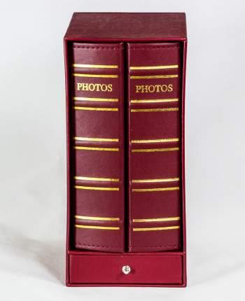 Фотоальбом-библиотека с кармашками на 400 фото 10х15 см, подарочный кейс