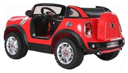 Радиоуправляемый детский электромобиль Jiajia Mini Cooper Красный