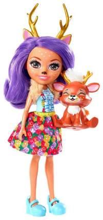 Кукла Enchantimals Mattel с питомцем Данесса Оления