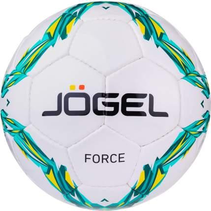 Футбольный мяч Jogel JS-460 Force №4 white/green