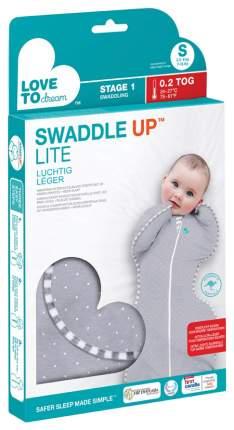 Конверт для новорожденных Love To Dream Swaddle UP LITE серый S