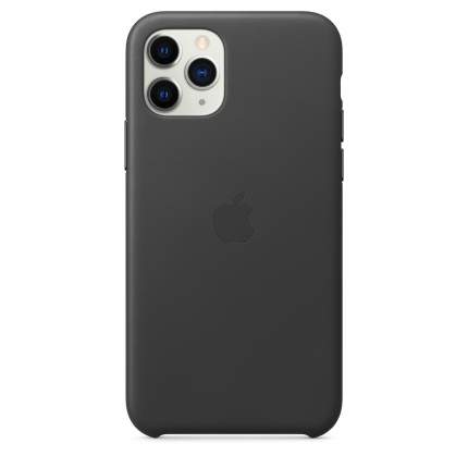 Чехол Apple для iPhone 11 Pro Leather Case - Black