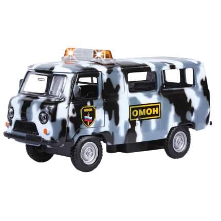 Полицейская Машинка Технопарк УАЗ-39625 1:43 ОМОН