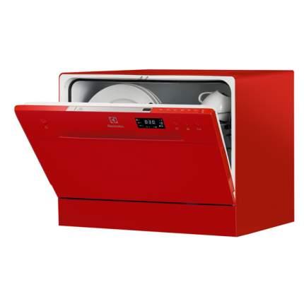 Посудомоечная машина компактная Electrolux ESF2400OH red