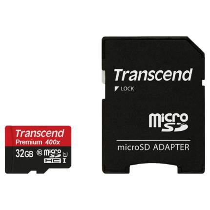 Карта памяти Transcend Micro SDHC Premium TS32GUSDU1 32GB