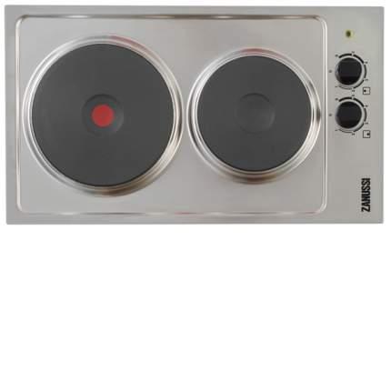 Встраиваемая варочная панель электрическая Zanussi ZEE3921IXA Silver