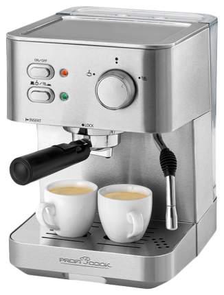 Кофеварка рожкового типа Profi Cook PC-ES 1109 Серебристый