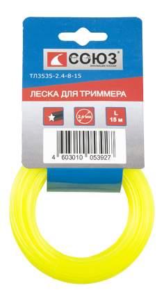 Леска для триммера Союз ТЛ3535-2.4-8-15