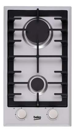 Встраиваемая варочная панель газовая Beko HDCG 32221 FX Silver