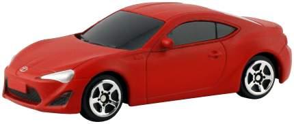 Легковая машина Uni-Fortune Toyota 86 без механизмов красный 9x4x4 см