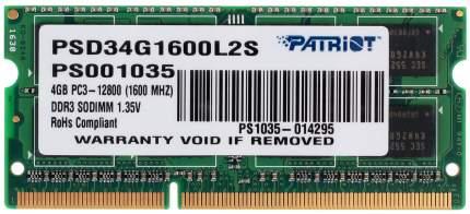 Оперативная память Patriot Signature PSD34G1600L2S