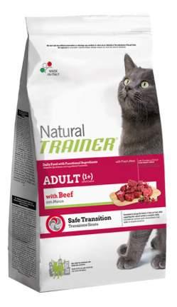Сухой корм для кошек TRAINER Natural Adult, говядина, 1,5кг