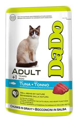 Влажный корм для кошек Dado Adult, с тунцом, 85г