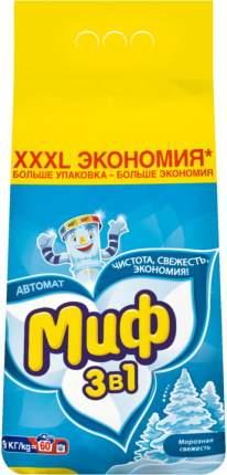 Порошок для стирки Миф морозная свежесть 9 кг