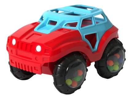 Машинка пластиковая Baby Trend Сине-красная
