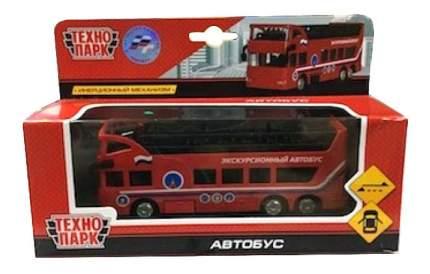 Машинка инерционная Технопарк Двухэтажный автобус