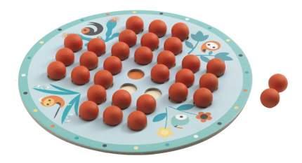 Семейная настольная игра Djeco Solitaire