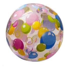Мячик надувной INTEX Lively Print Balls 61 см