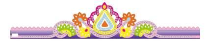 Мозаика Color Kit Корона фиолетовая