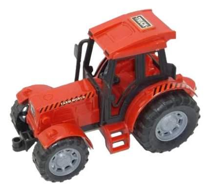 Трактор инерционный Junfa Toys красный 8066