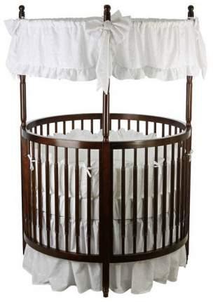 Кровать Dream On Me Sophia Posh Circular Crib Espresso