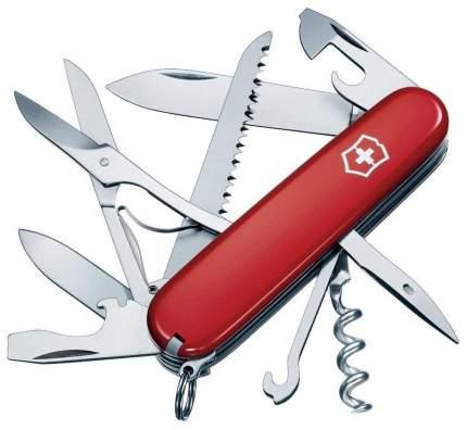 Мультитул Victorinox Huntsman 1.3713 91 мм красный, 15 функций