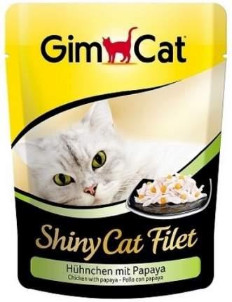 Влажный корм для кошек GimPet ShinyCat, цыпленок, 70г