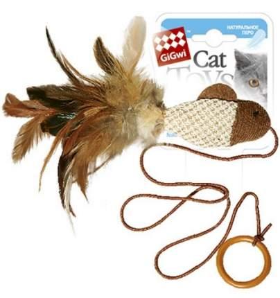 Игрушка для кошек Gigwi, Текстиль, с кольцом