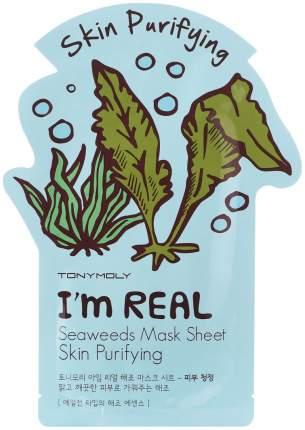 Маска для лица Tony Moly I'm Real Seaweeds Mask Sheet 21 мл