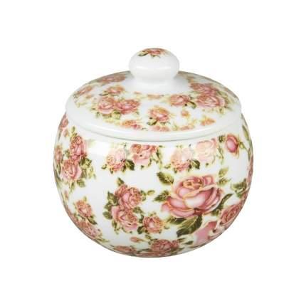 Сахарница Rosenberg RCE-140002-KR Белый, розовый