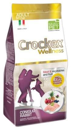 Сухой корм для собак Crockex Wellness Adult Mini, кролик, рис, 12кг